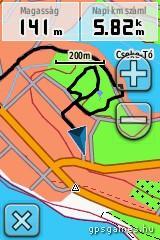 GARMIN Dakota 10 térkép
